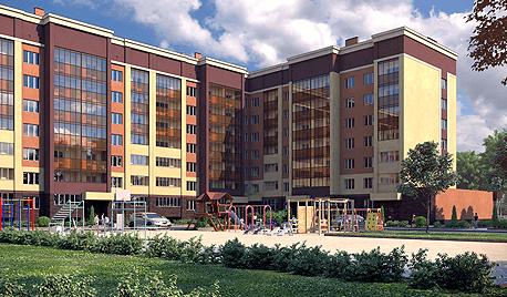 Residential building in UFA